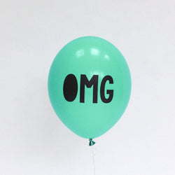 OMG Balloons Peppermint (5 Pack)
