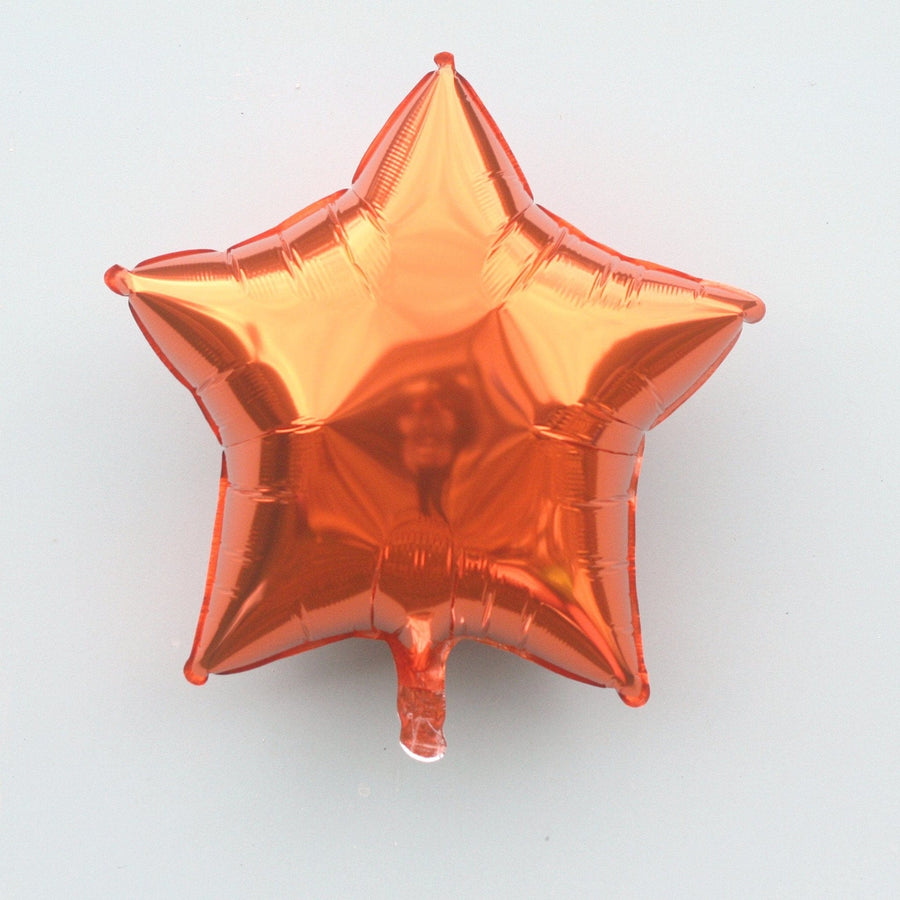Orange Star Balloon | Helium Balloons Online