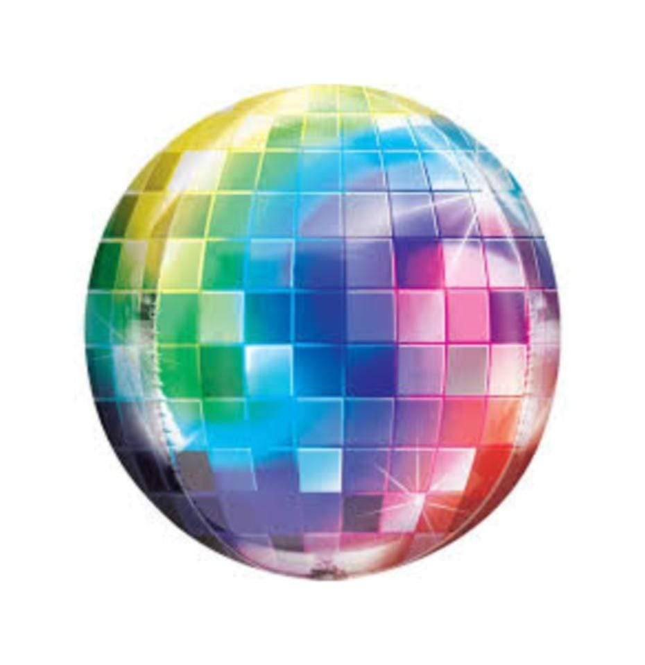 Orbz Disco Balloon | Helium Filled Balloons | Disco Party Ideas | Disco Party Supplies UK