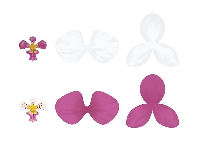 Orchid Flower Paper Decorations