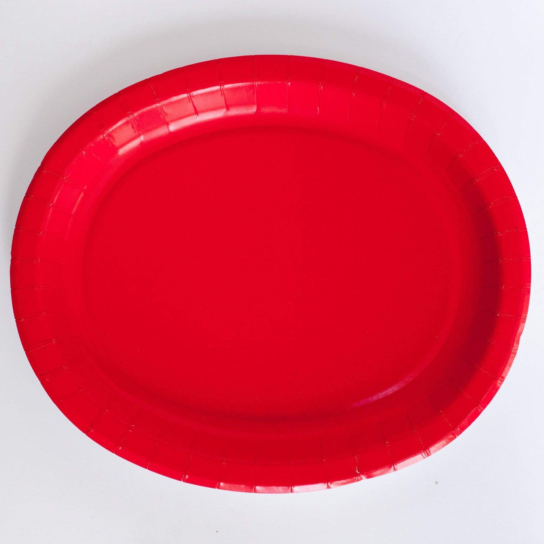 Red platters