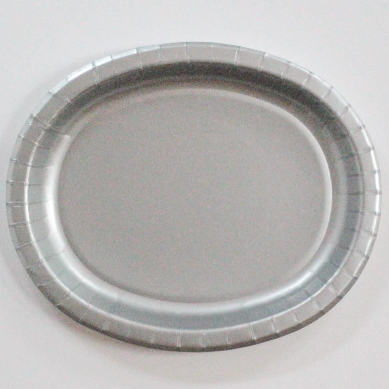Silver Paper Serving Platters