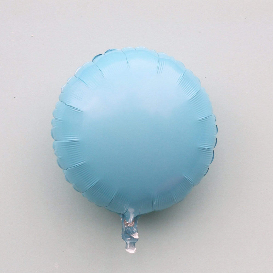 Pale Blue Foil Balloon | Helium Balloons Online