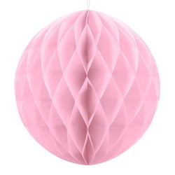 Pale Pink Honeycomb Ball