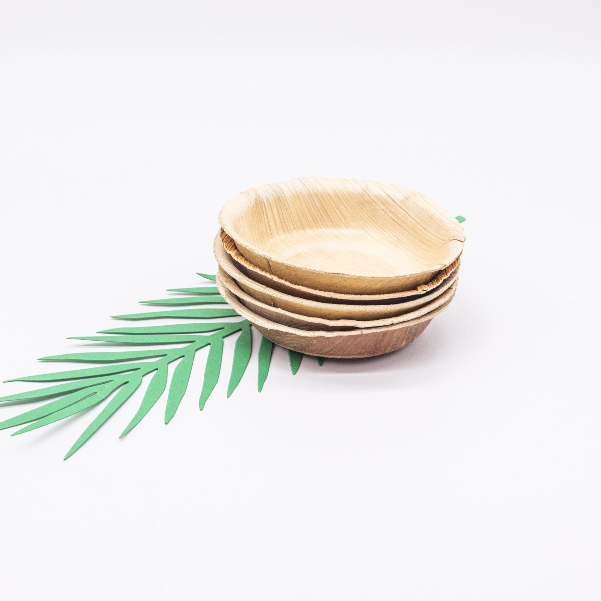 Eco Disposable Dip Bowls | Palm Leaf Dipping Bowls