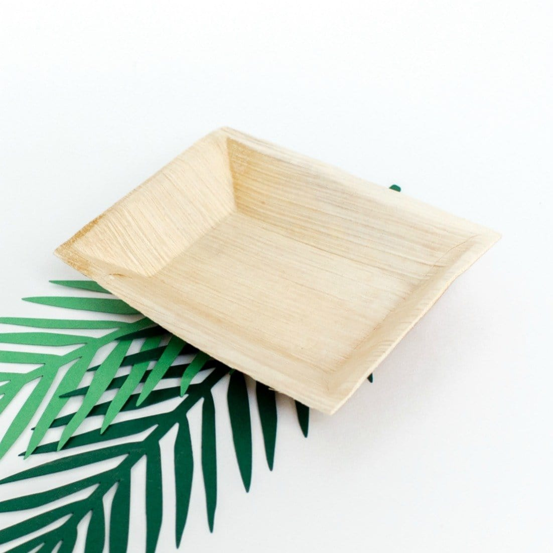 Palm Leaf Rectangular Side Plates