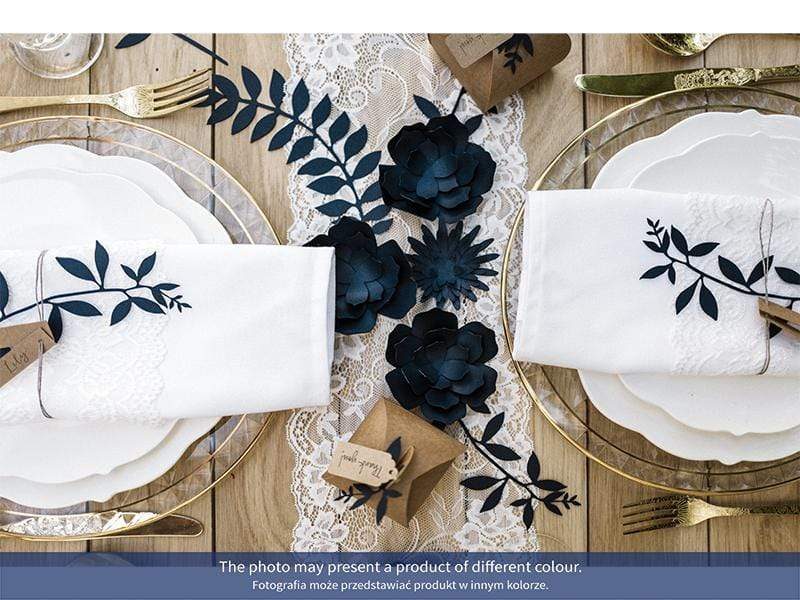 Paper Branch Decorations - Navy Blue (9 Pack)