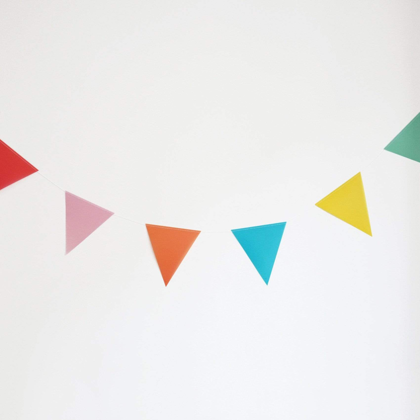 Colourful Paper Bunting
