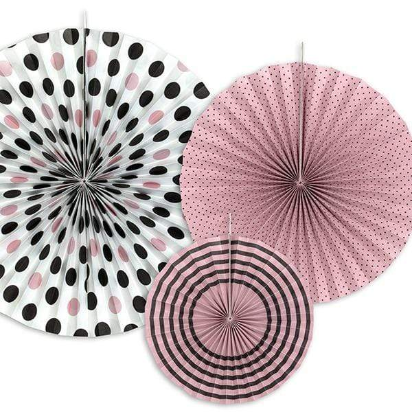 Paper Fan Rosette Pack - Paris