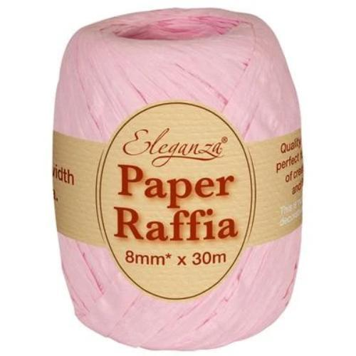 Pink Paper Raffia | Eco Balloon Ribbon
