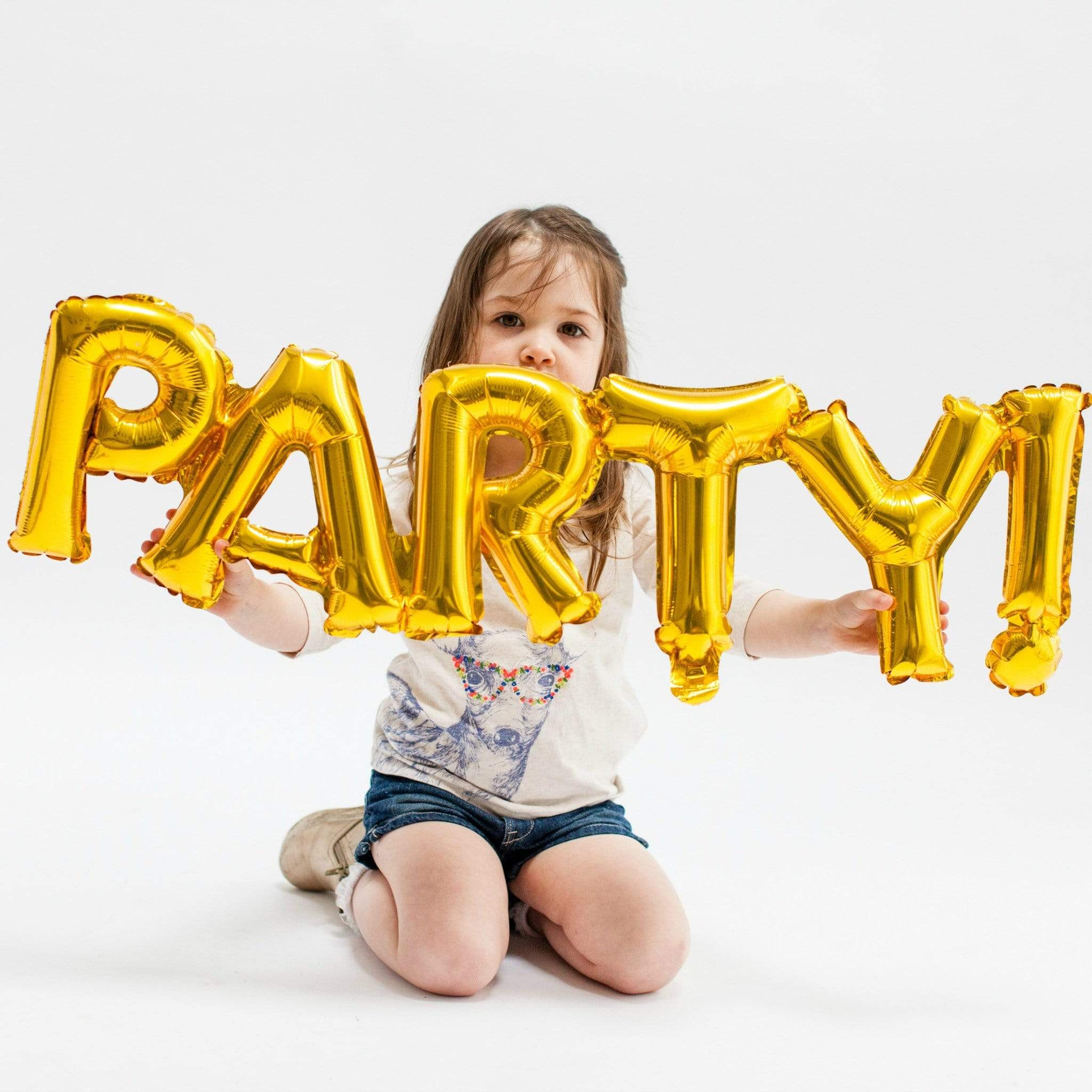 Gold Foil Party Balloon