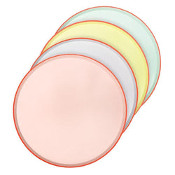 Pastel Neon Dinner Plates (Pack of 12)