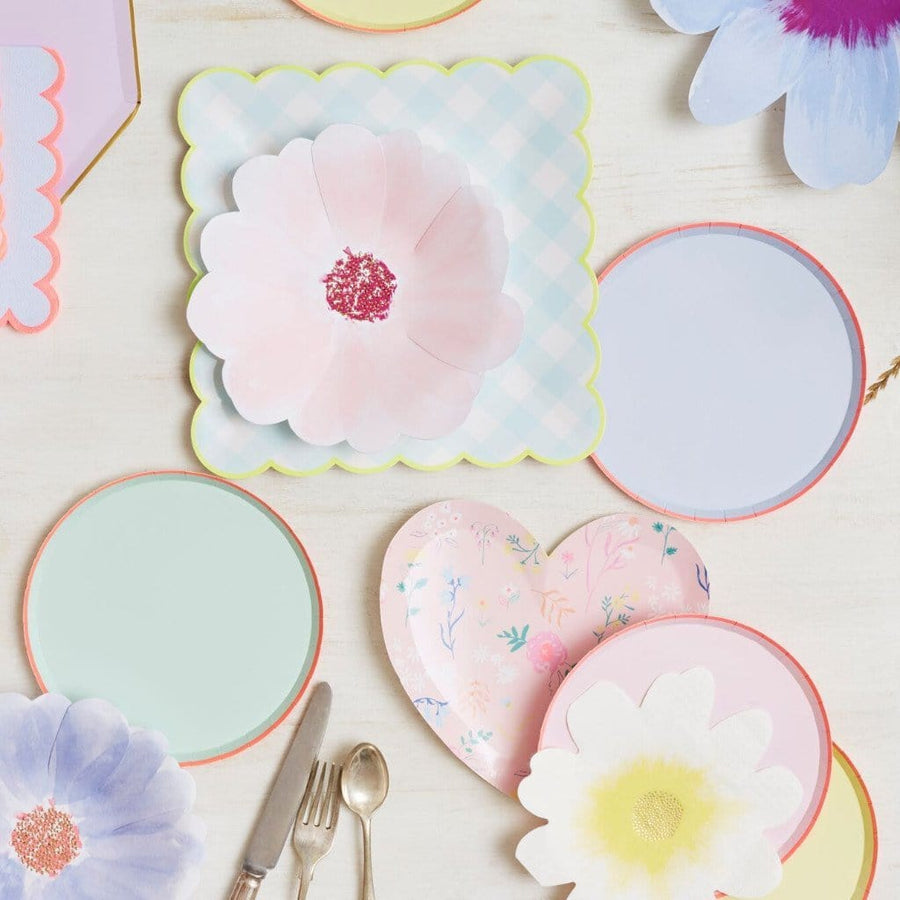 Pastel Mix Party Plates | Meri Meri Tableware