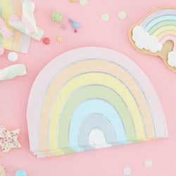Pastel Rainbow Party Napkins | Ginger Ray Napkins