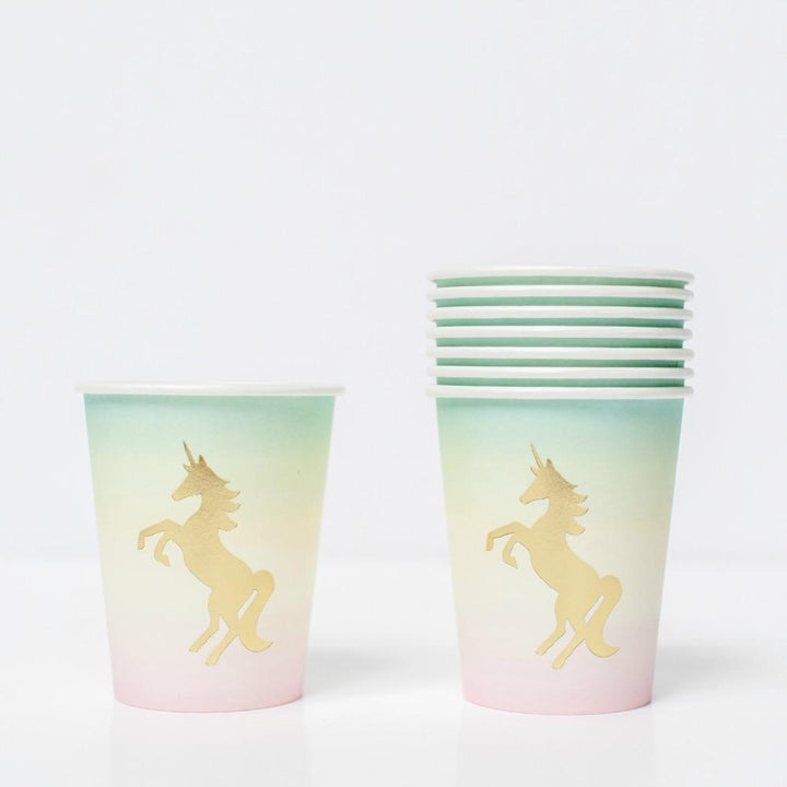 Pastel Unicorn Party Cups (12 pack)