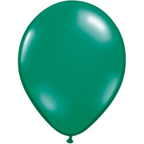 Pearl Green Latex Balloons 11""