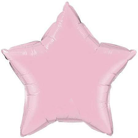 Pearl Pink Star Balloon | Helium Balloons Online