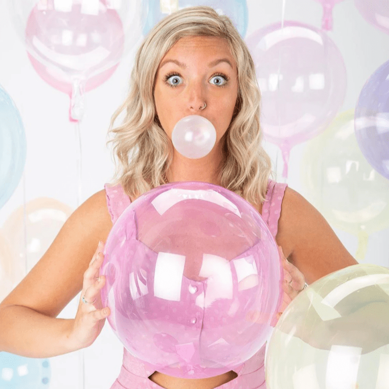 Petite Crystal Clearz Transparent Balloons