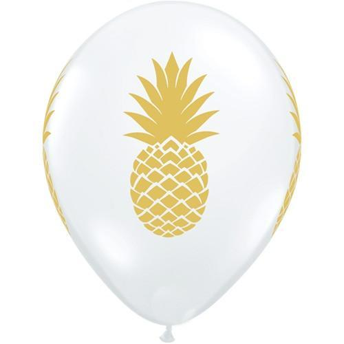 Pineapple Clear Balloons 11