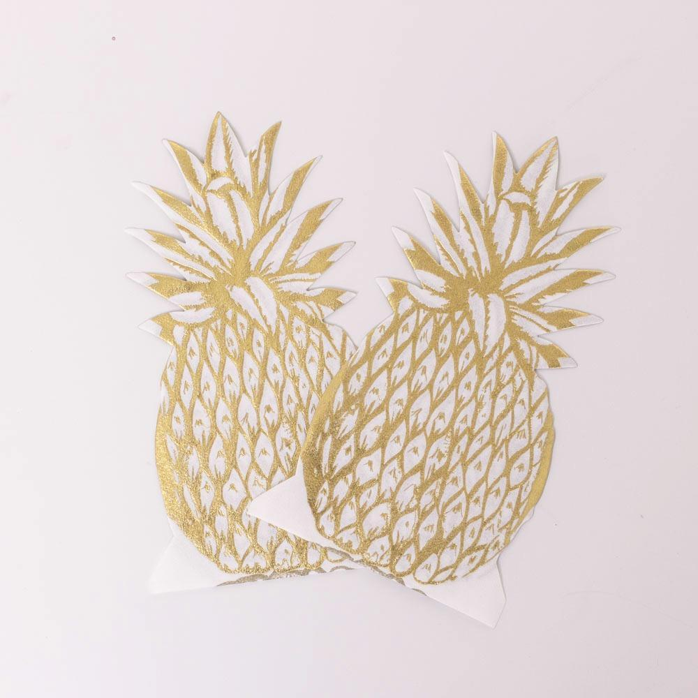 Pinapple Party Serviettes