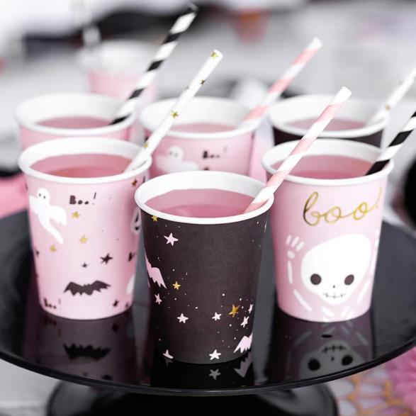 Pink Halloween Party Supplies | Pink Halloween Party Cups