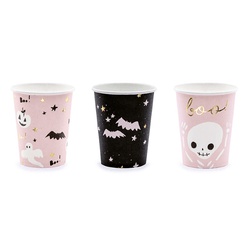 Pink Halloween Party Cups (6 pack)