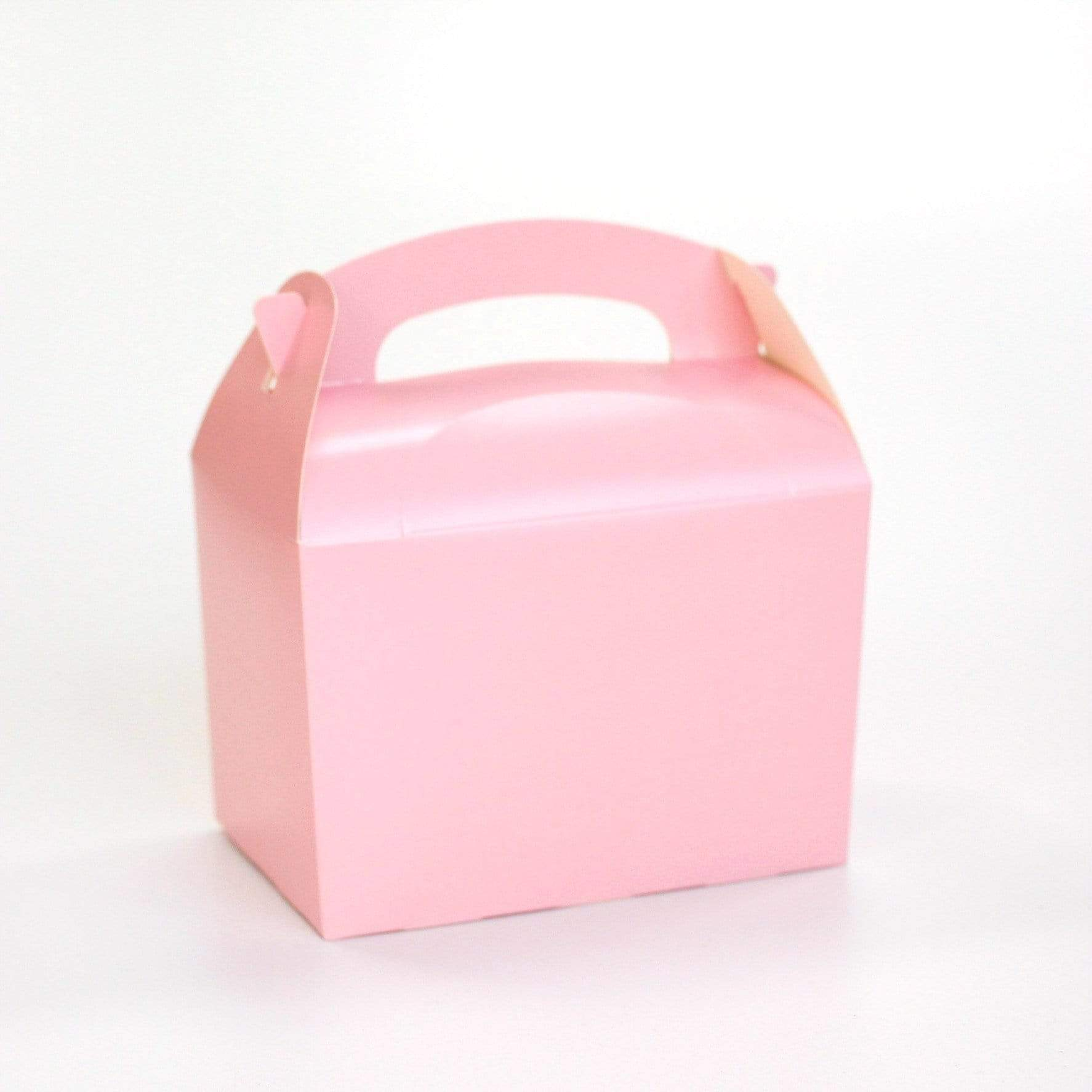 Pink Party Box | Coloured Party Boxes UK