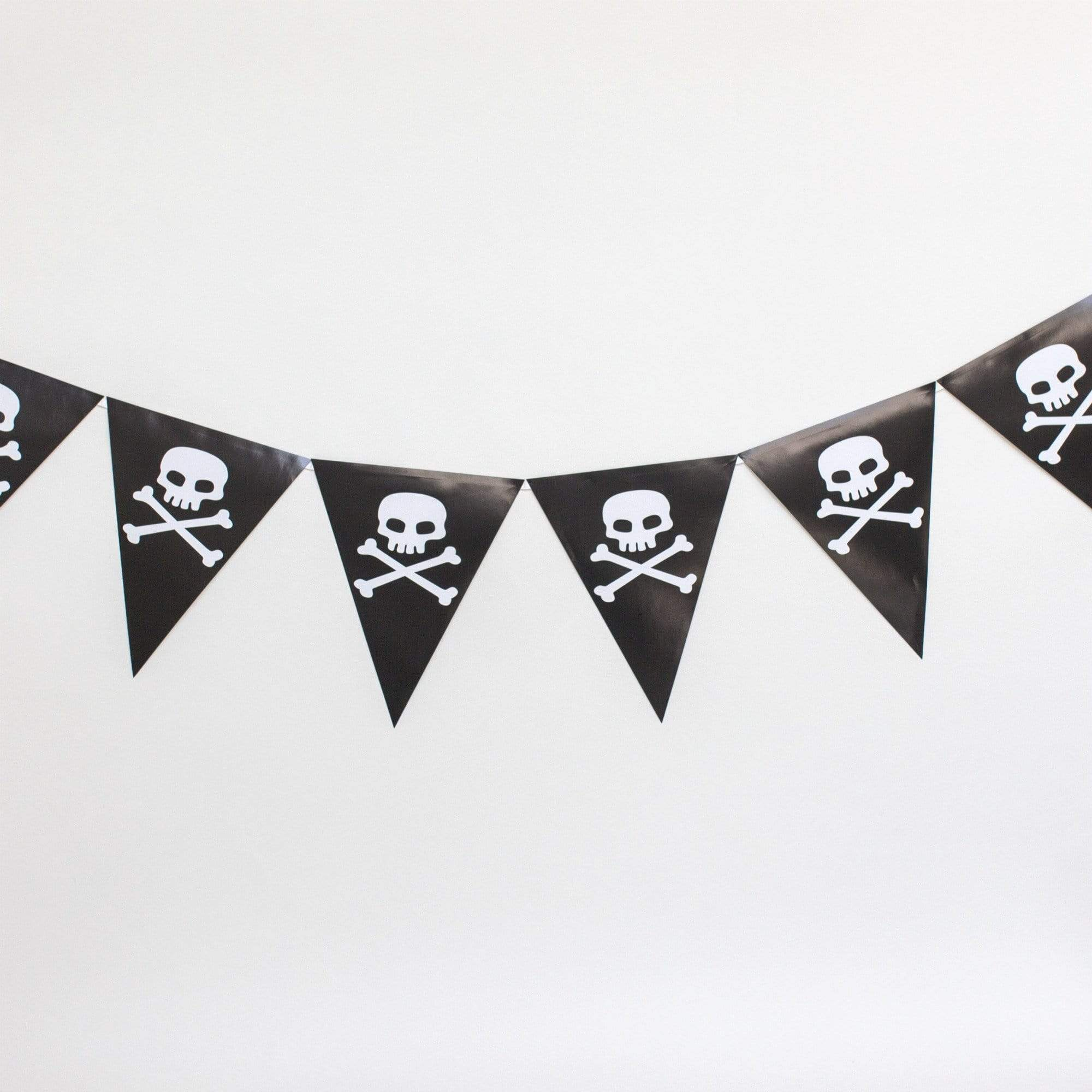 Pirate flag paper Bunting