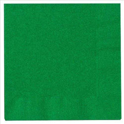 Plain Green Party Napkins