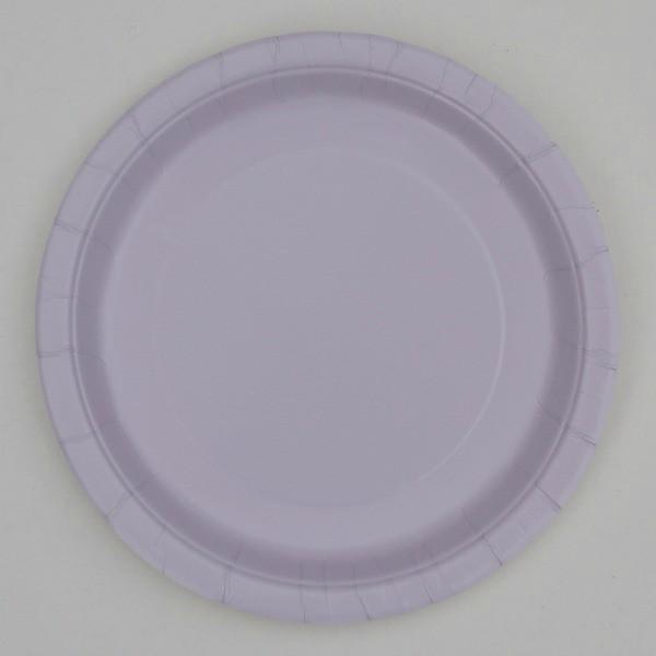 Lilac Paper Plates
