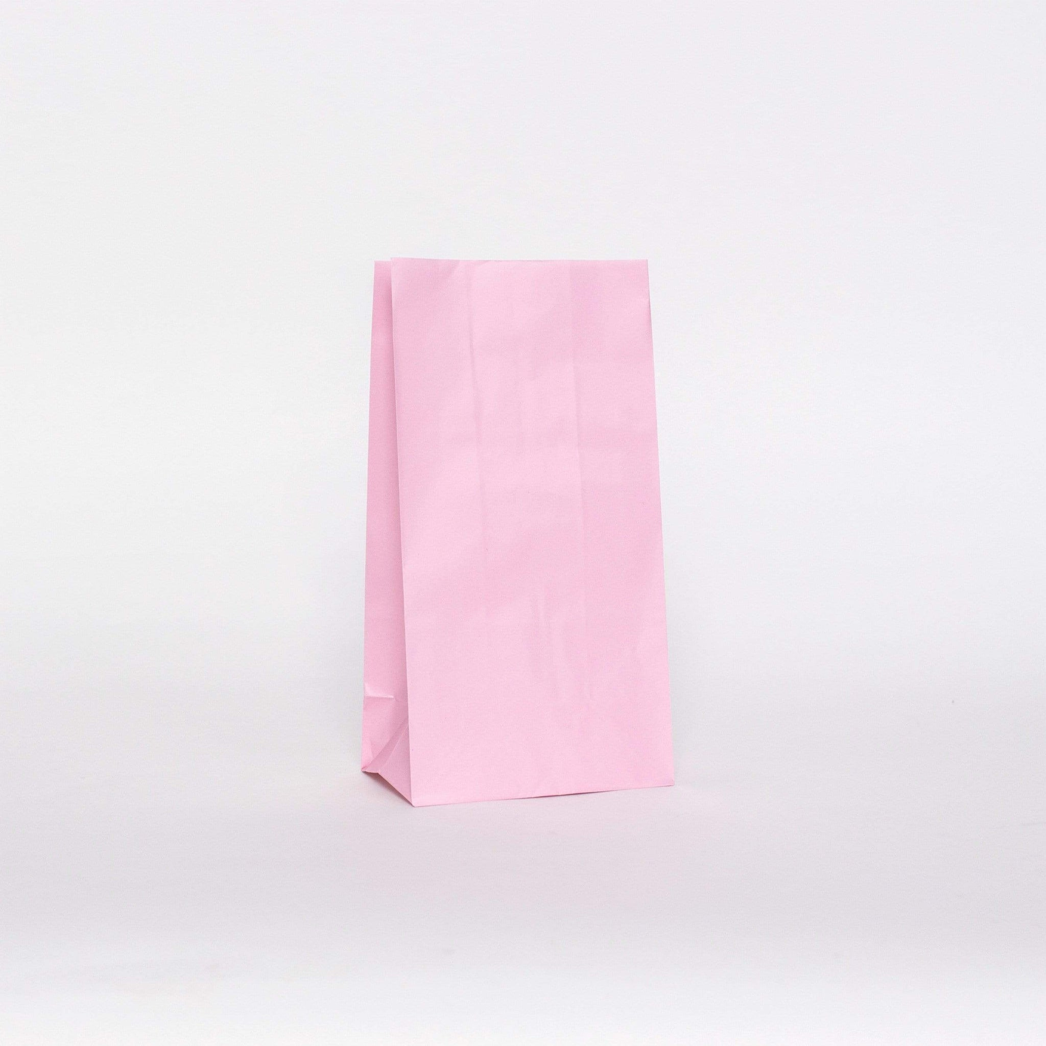 Plain Pink Party Bags