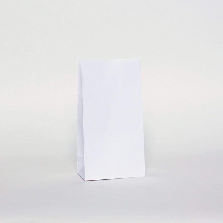 Plain Party Bags White (12 Pack)