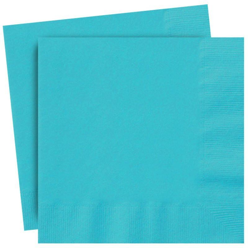 Teal Turquoise Party Napkins | Unique party