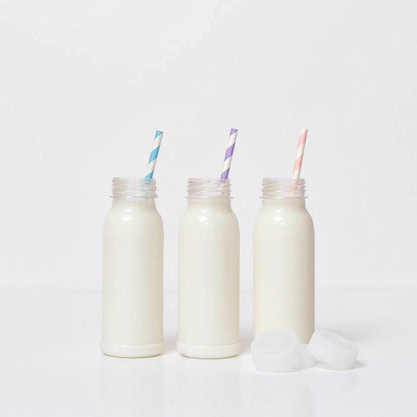 Mini Milk Bottles for Drinks Parties
