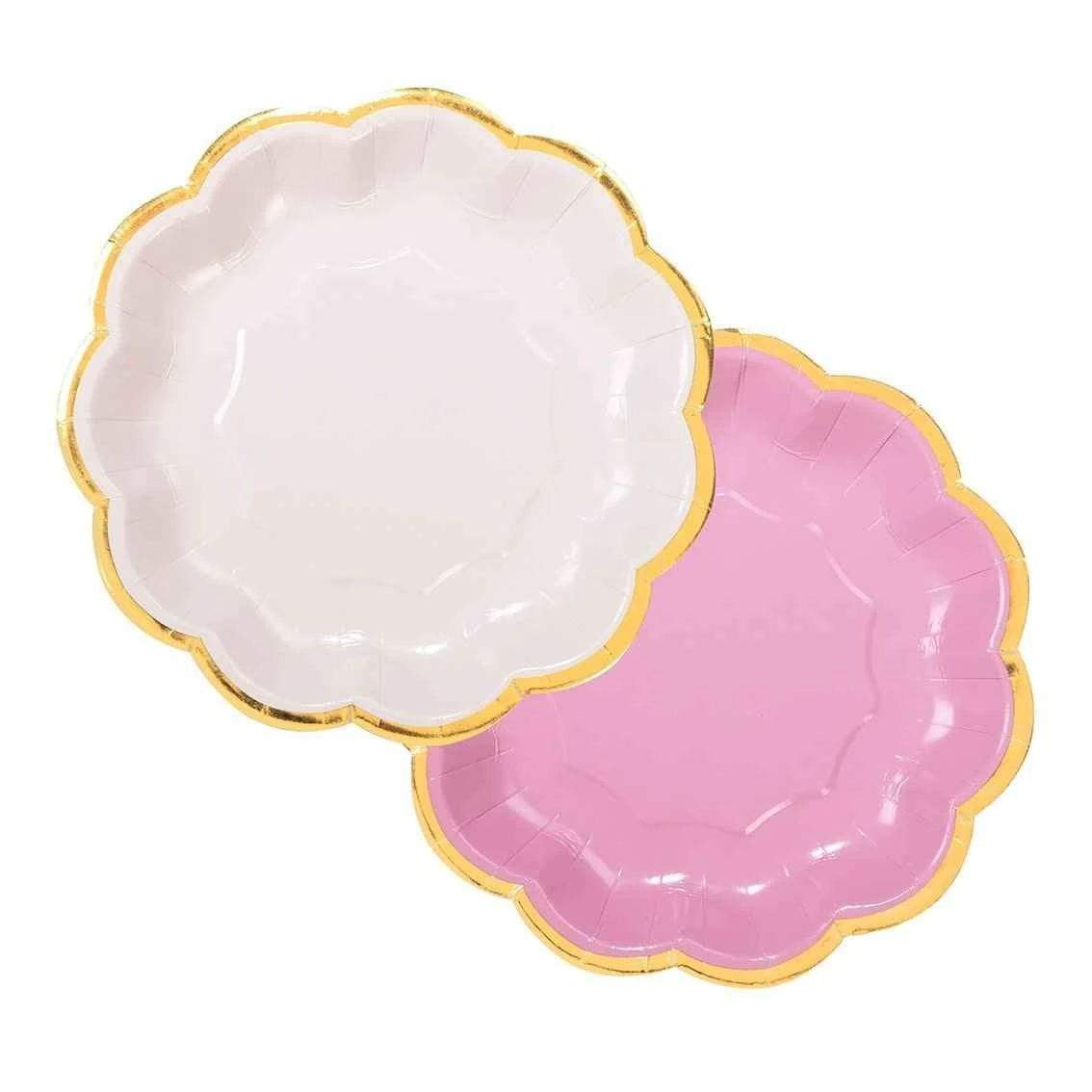 Pretty Pink Paper Plates Talking Tables UK