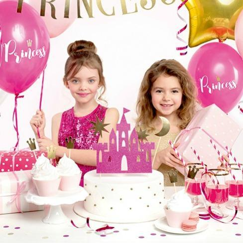 Princess Party Castle Cake Topper