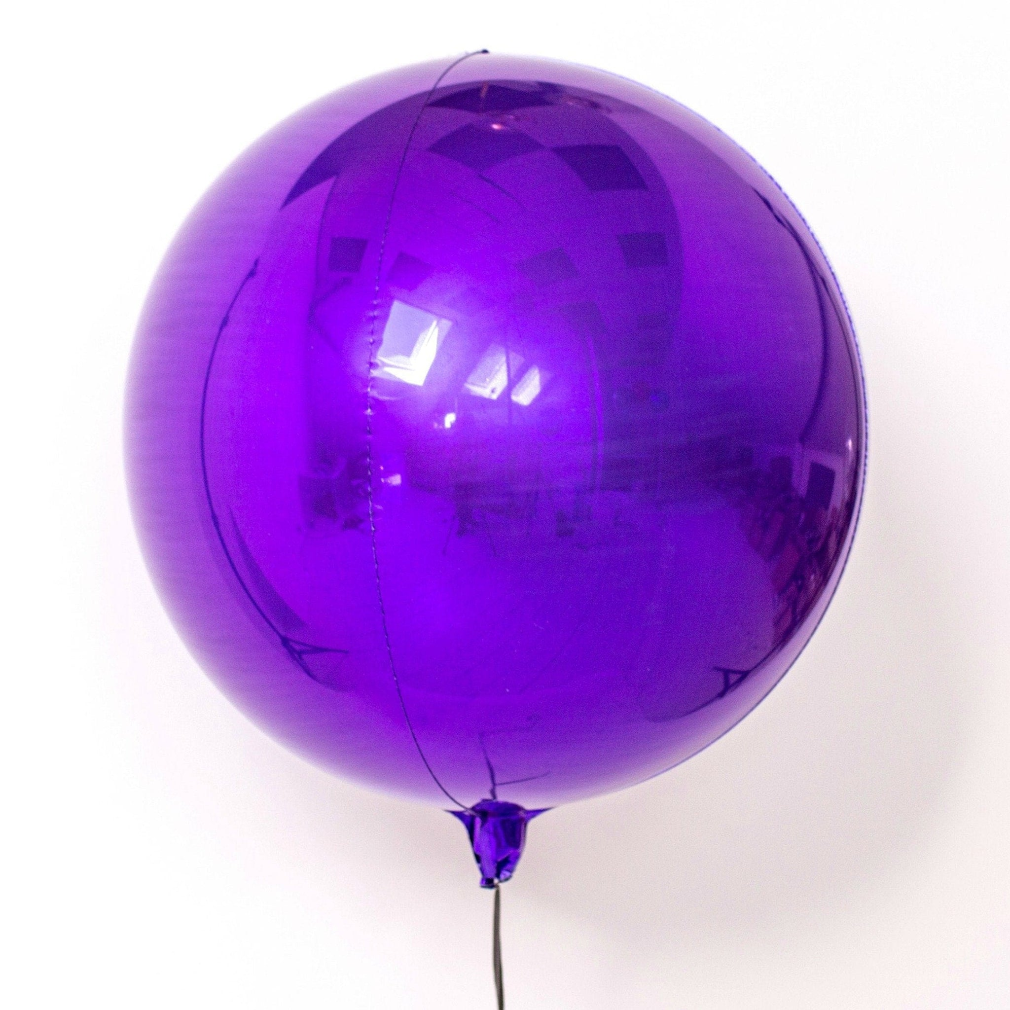 Purple Orb Balloons | Foil Orbz Balloons | Big Round Foil Balloons