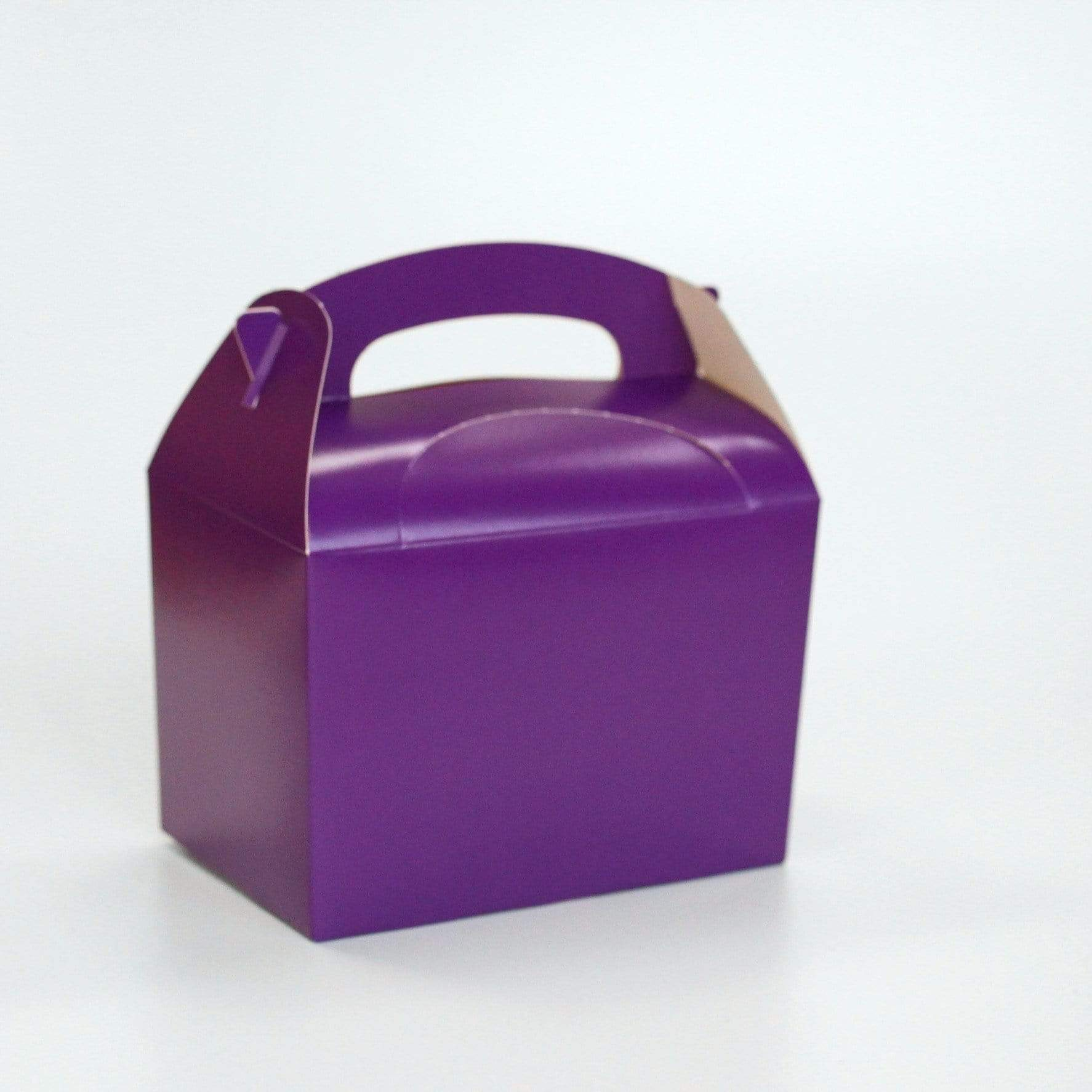 Purple Lunch Box | Coloured Party Boxes UK