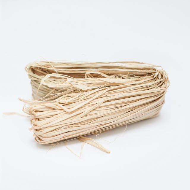 Natural Raffia for Gift Wrap