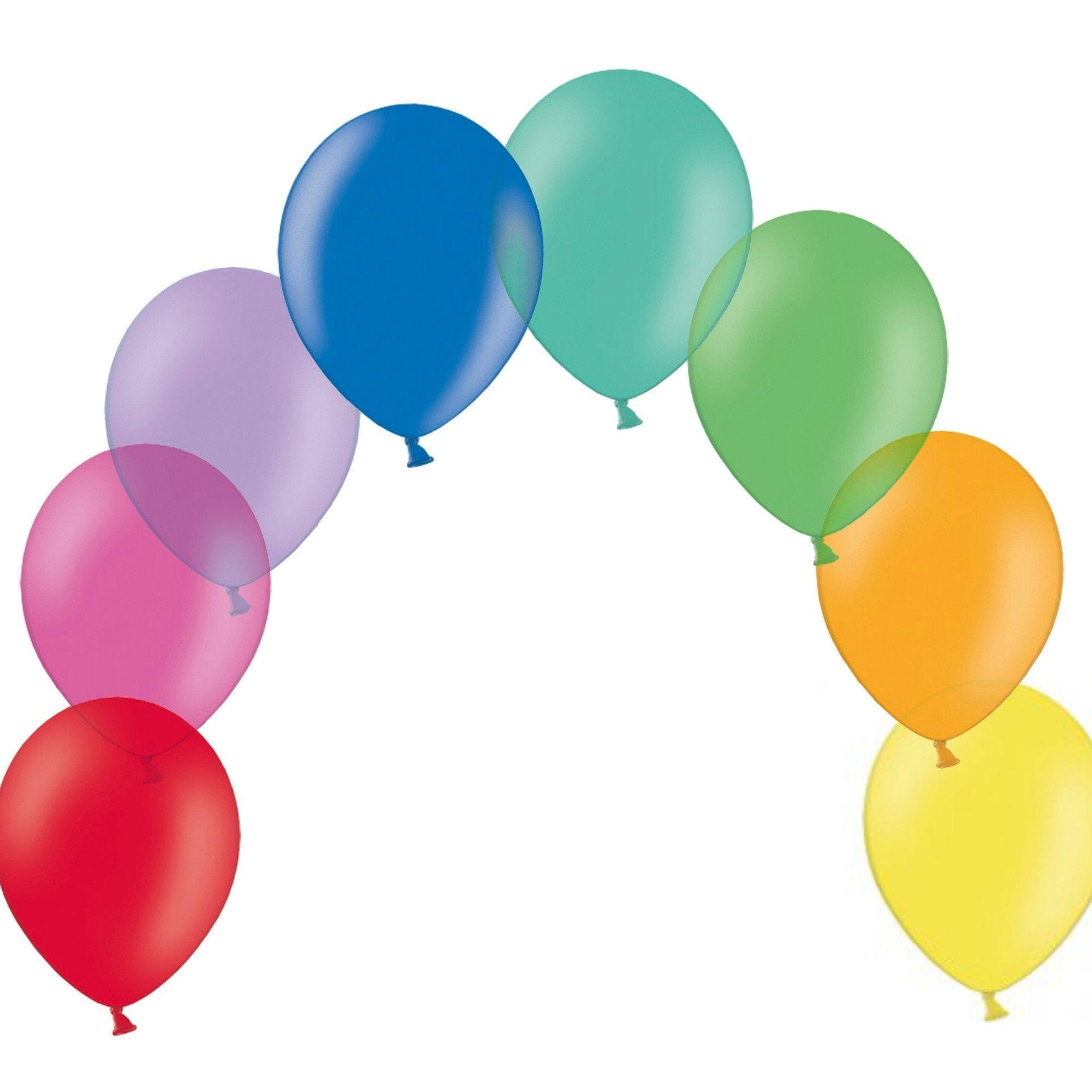 Rainbow Balloon Mix | Rainbow Party Balloons Online UK