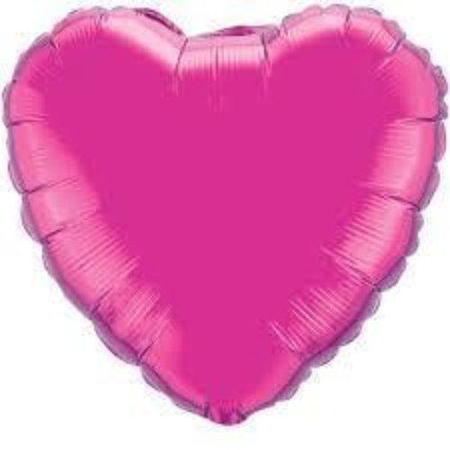 Pink Heart Foil Balloon - Qualatex Balloons