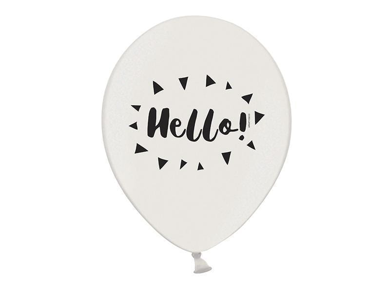 Hello Party Balloon