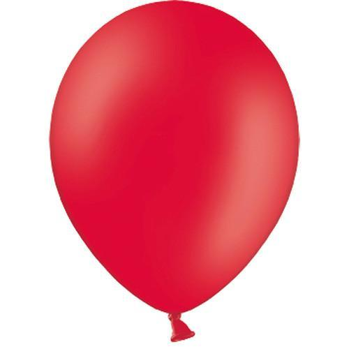 Plain Red Balloons | Latex Balloons UK