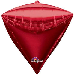 Red Diamondz Balloon 17""