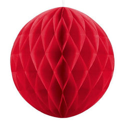 Red Honeycomb Ball