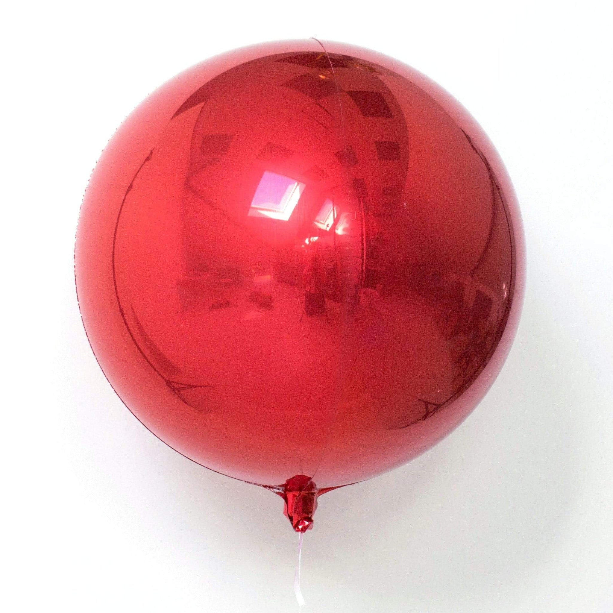 Red Orb Balloons