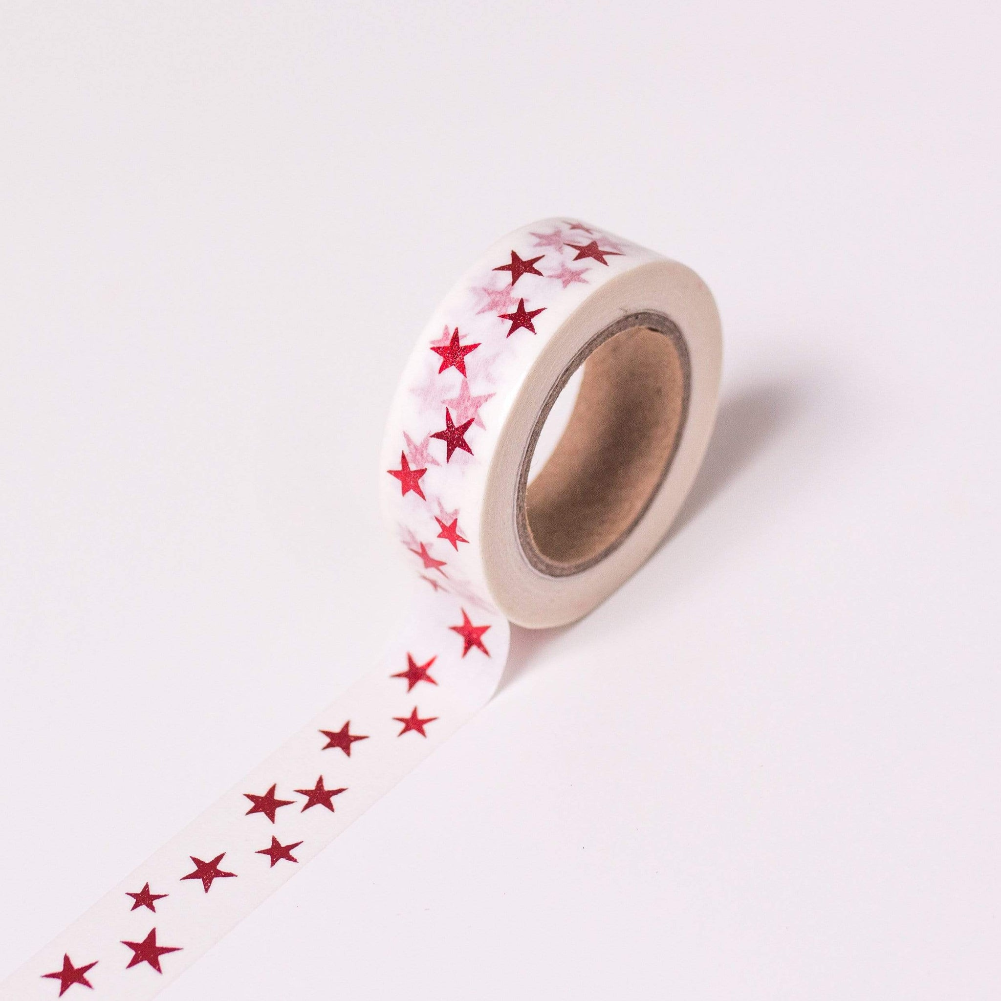 Red Star Washi Craft Tape | MT Washi Tape