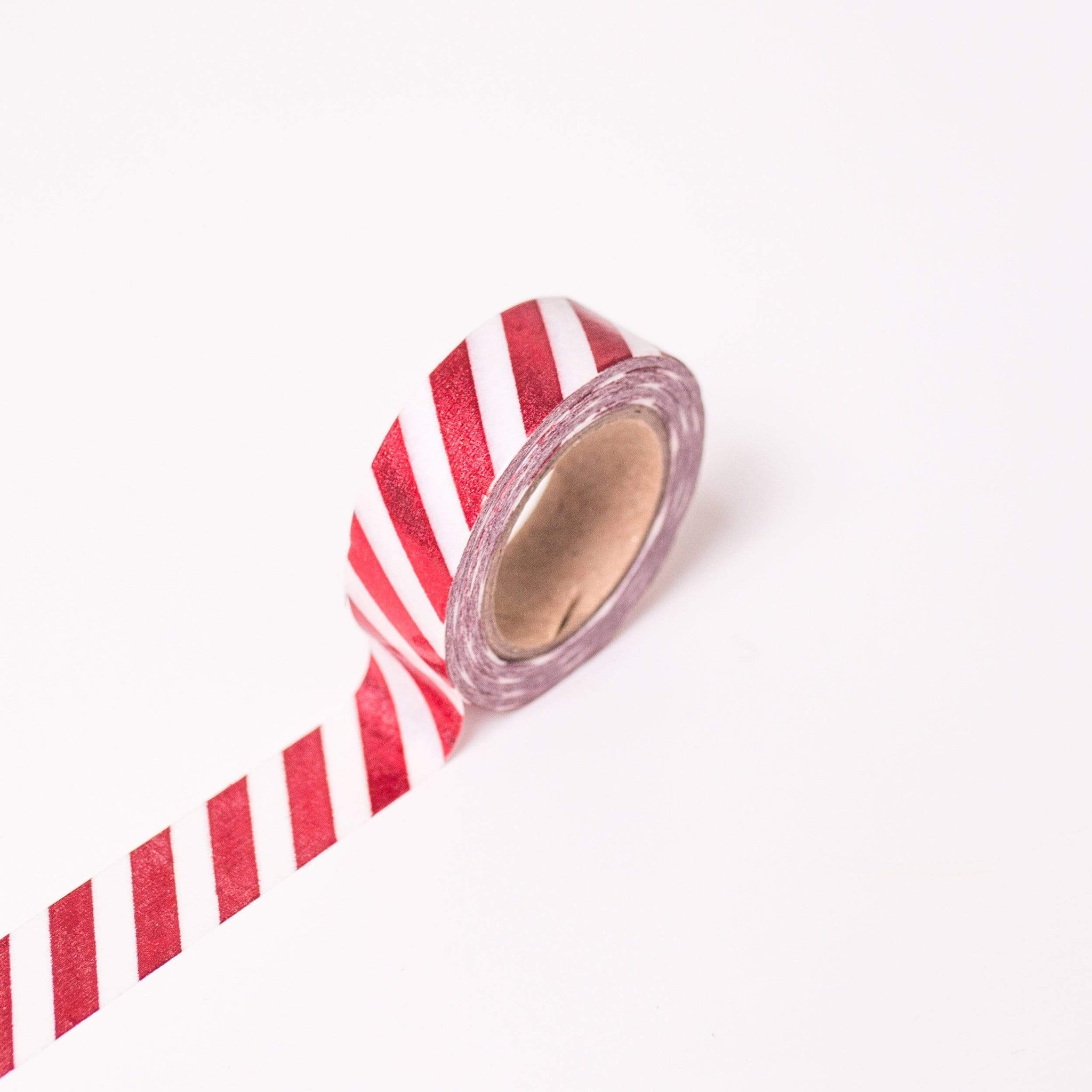 Red Striped Craft Tape | MT Washi Tape