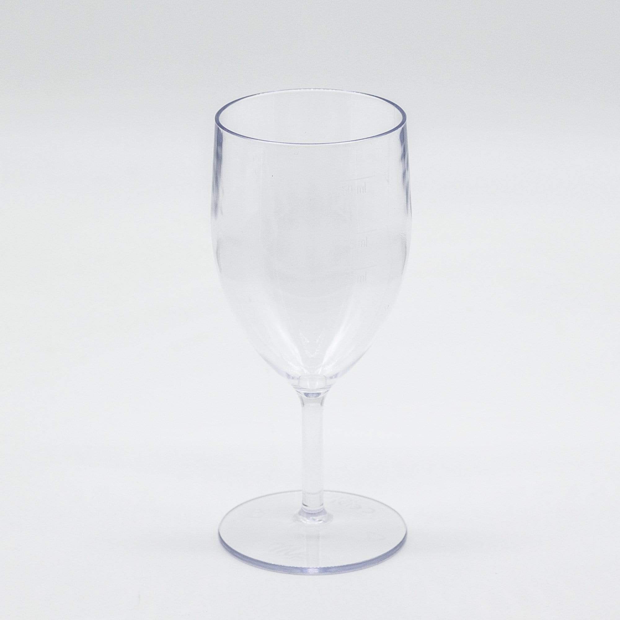 Reusable and Recylclable Plastic Wine Glasses