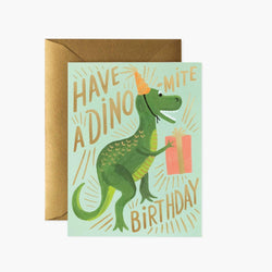 Rifle Paper Co Card - Dino Mite